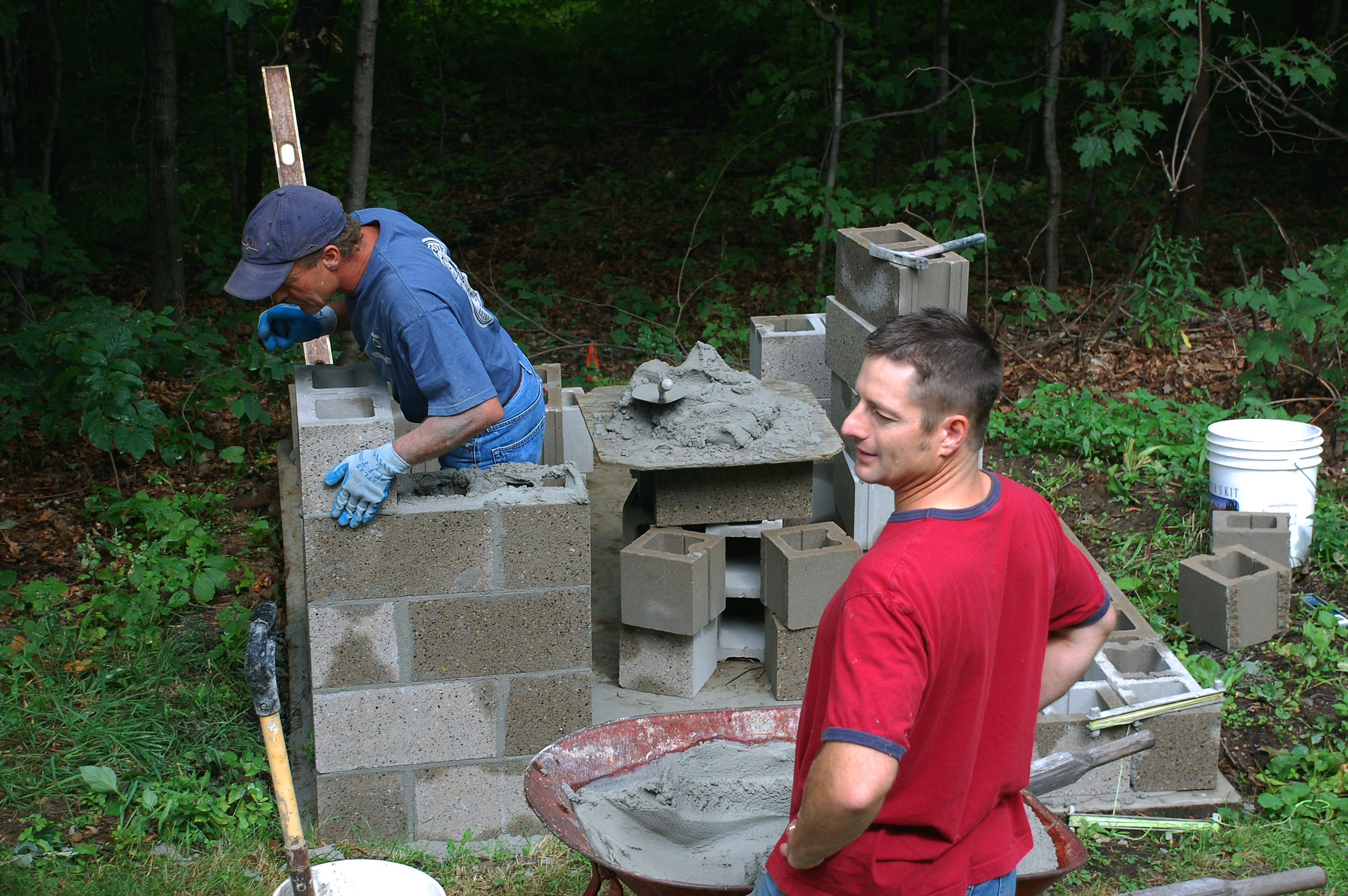 Building a smokehouse… | Just Two Farm Kids