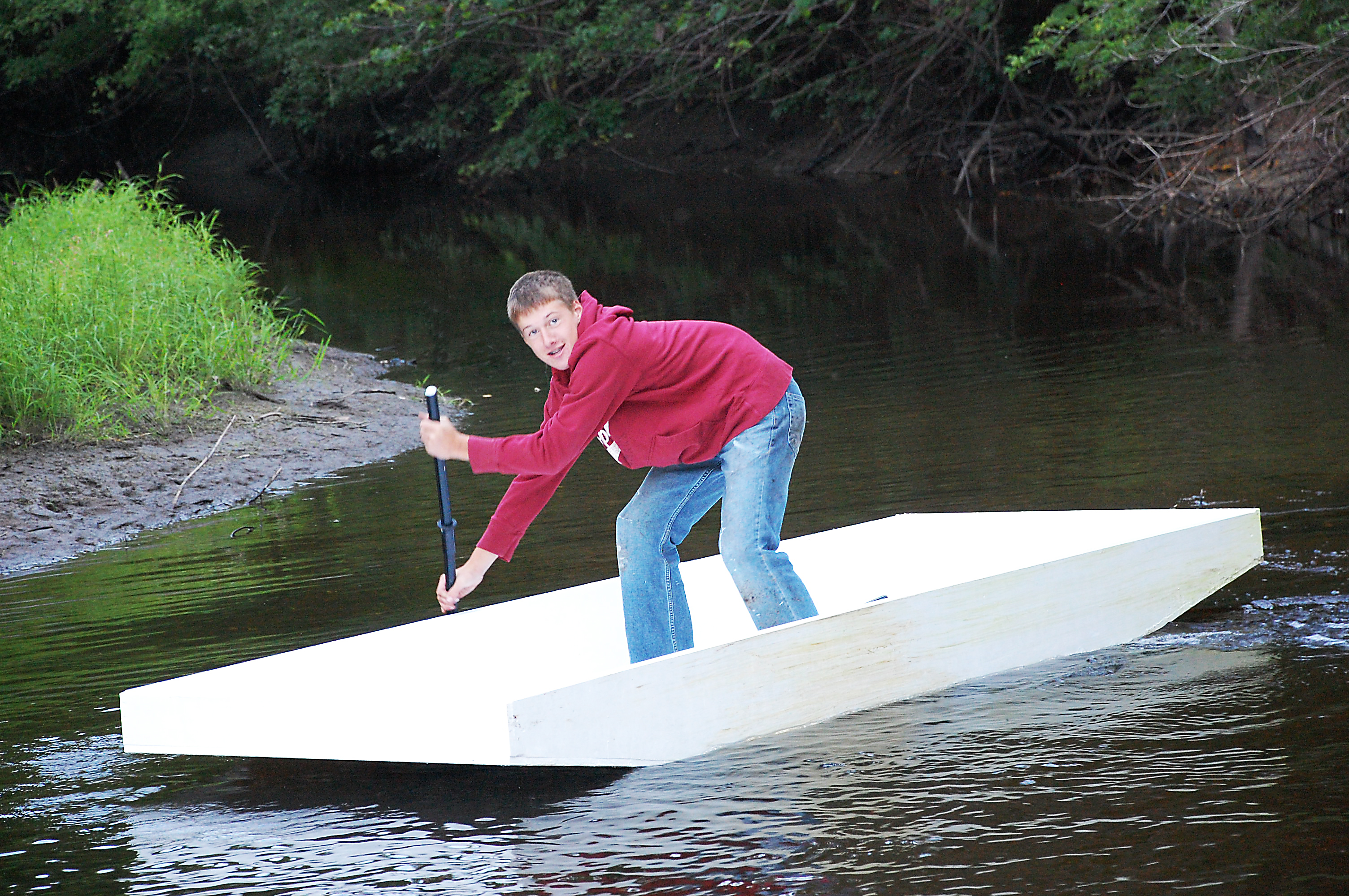 Displaying 20> Images For - Homemade Boats...