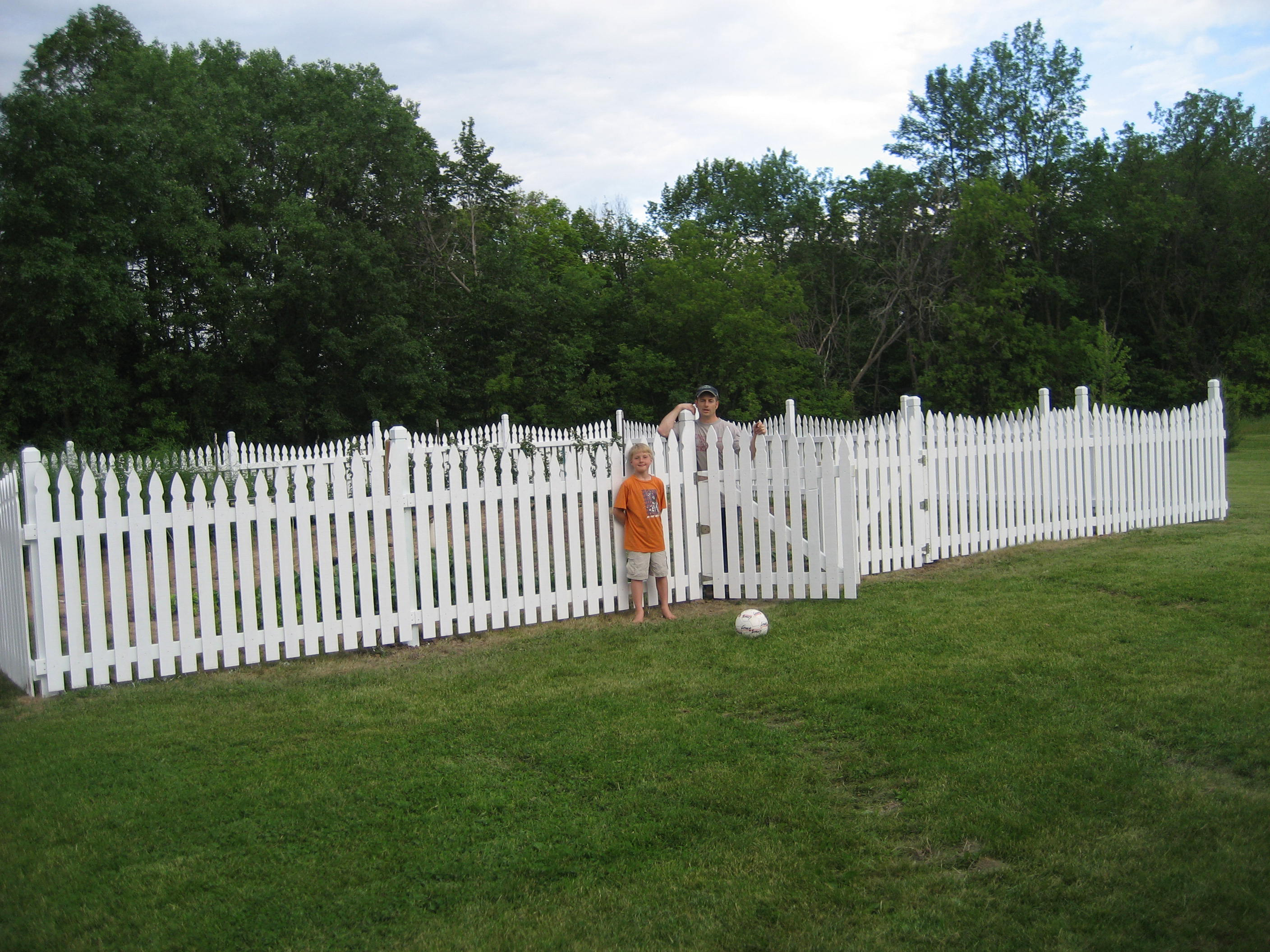 The Fence Has Worked Out Great And Each Year We Continue To Make  Adjustments To Our Vegetable Garden, Trying New Things And Removing Things  From Our List Of ...